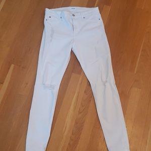 Hudson jeans white 30 nwot